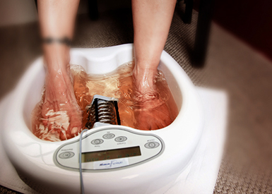 DETOX ELECTROLYSIS FOOTBATH